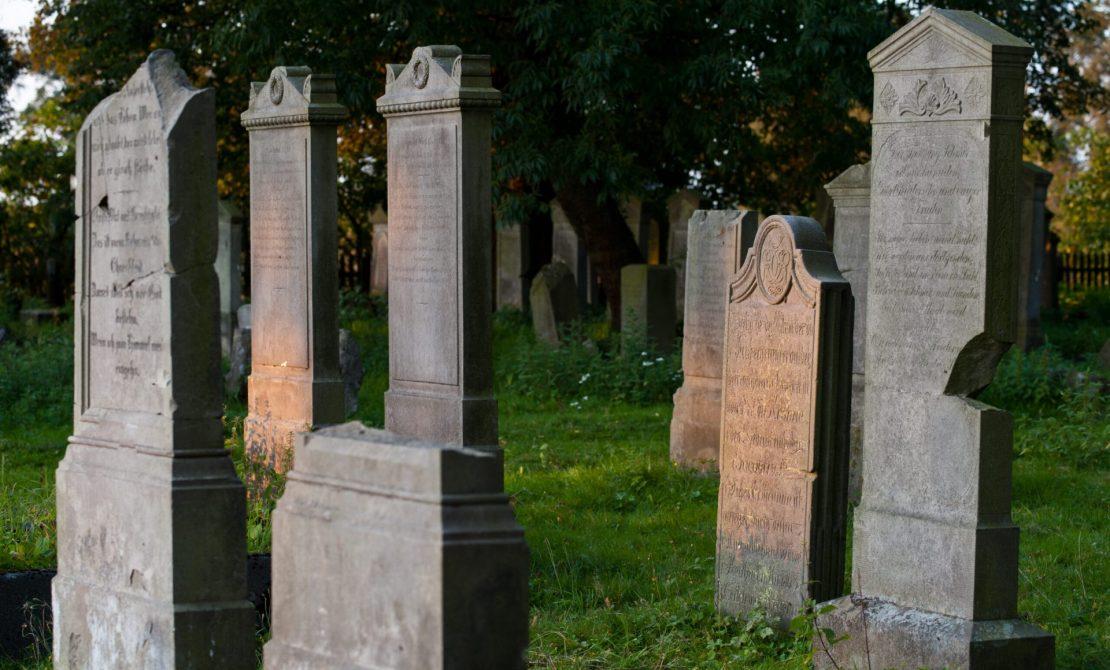 Cmentarz mennonicki w Stogach Malborskich, fot. Pomorskie Travel