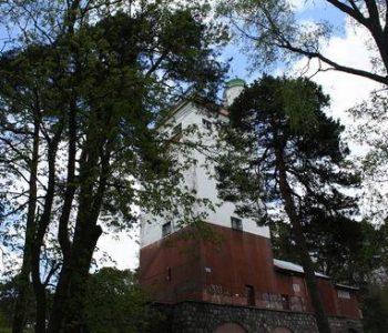 The former Bismarck Tower in Lębork