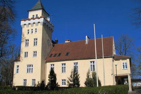Dawny pałac Wejherów w Nowęcinie