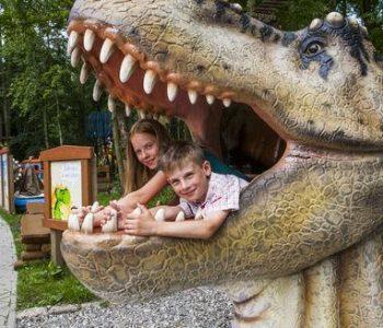 Dino park in Malbork