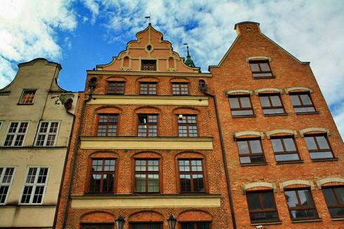 The Mrongovius House in Gdańsk
