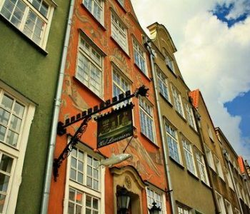 The House under the Salmon in Gdańsk