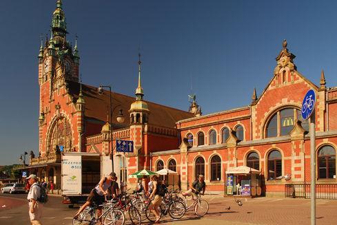 Dworzec Glówny PKP w Gdańsku