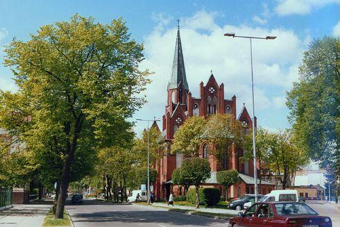 Our Lady of Poland Church in Lebork