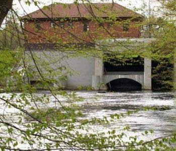 Elektrownia wodna Kępka na Wieprzy
