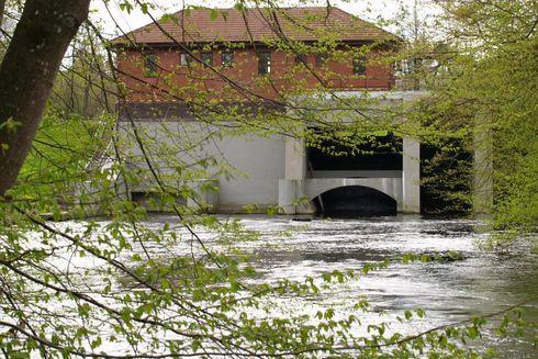 Water power Kepka on Wieprza River