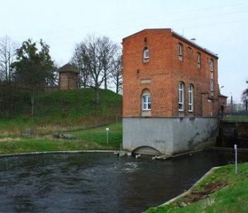 Elektrownia wodna Owidz na Wierzycy