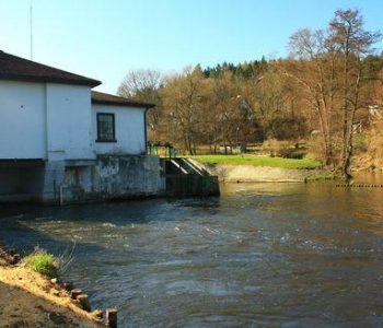 Elektrownia wodna Smołdzino na Łupawie
