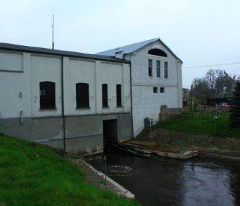 The Stocki Młyn hydroelectric power plant