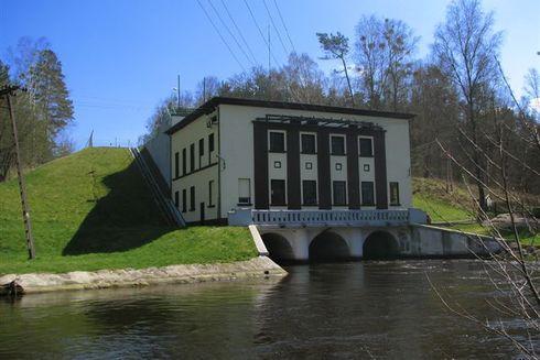 Elektrownia wodna Strzegomino na Słupi