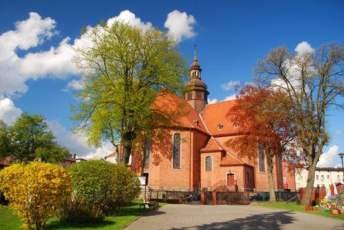 The Holy Trinity Church in Kościerzyna
