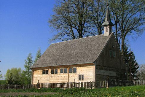 The Church of the Black Madonna of Częstochowa in Palczewo