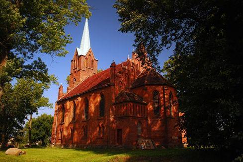 Kościół pw. Niepokalanego Poczęcia Najświętszej Maryi Panny w Nowej Wsi Lęborskiej