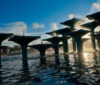 The Fountain in Gdynia