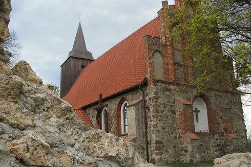 The frescoes in Pręgowo