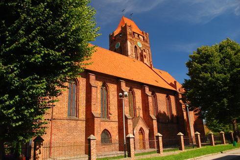 Gotycka konkatedra pw. Św. Wojciecha w Prabutach