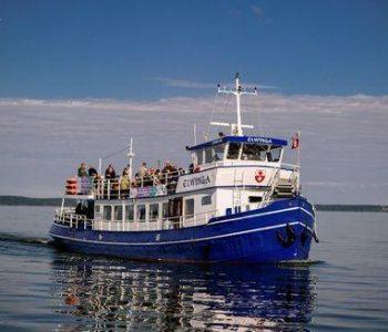 Ilfing – rejsy statkiem Elwinga po Zalewie Wiślanym
