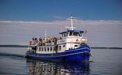 Ilfing - rejsy statkiem Elwinga po Zalewie Wiślanym