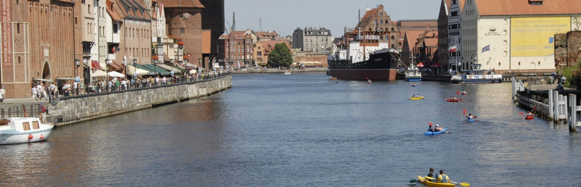 Gdańsk and not only …. From the kayak