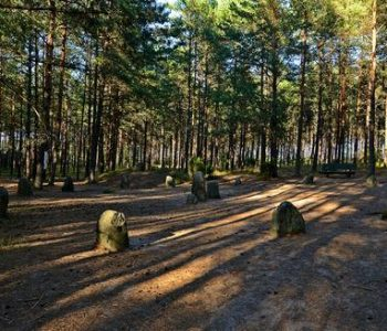 The Stone circles in Węsiory