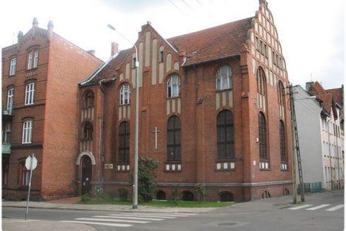 Chapel of the  Baptist Church in Malbork