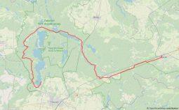 km szlak żólty mapa