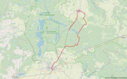 km szlak zielony mapa