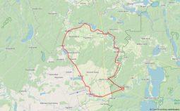 km pętla konarzyńska mapa