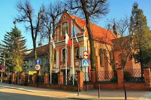 The St. Anna's Franciscan Monastic Church in Wejherowo