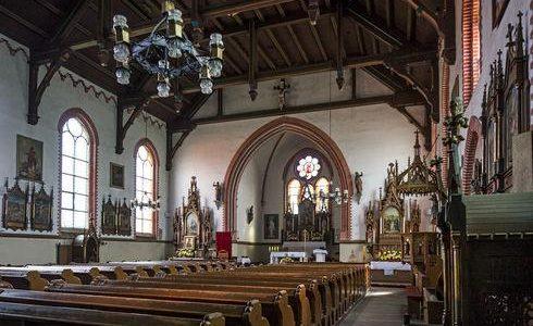 Kościół poewangelicki w Wysinie