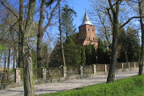 The Holy Trinity Church in Lubiszewo Tczewskie