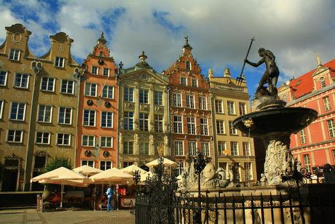 The Royal Tenement Houses in Gdańsk