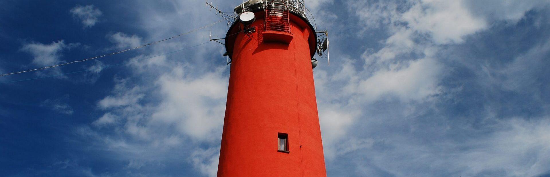 The Krynica Morska lighthouse