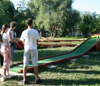 Mini Golf w Malborku