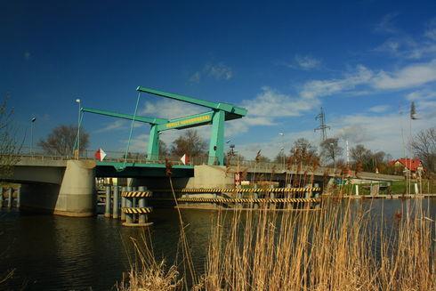 Most zwodzony w Drewnicy
