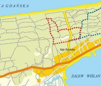 Nordic Walking Kąty Rybackie (The Blue Trail)