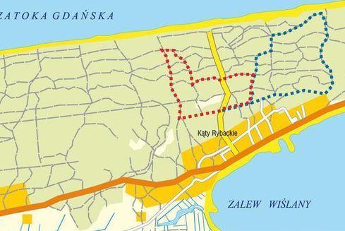 Nordic Walking Kąty Rybackie (Szlak Niebieski)