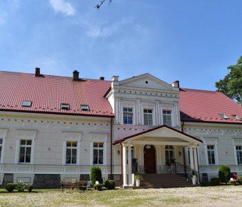 Pałac w Borkowie Lęborskim
