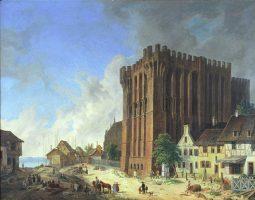 palac wielkich mistrzo w malborku 1834 domenico quaglio