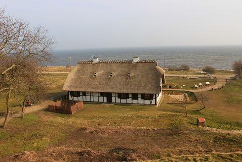 """Park Kulturowy """"Osada Łowców Fok"""" w Rzucewie"""