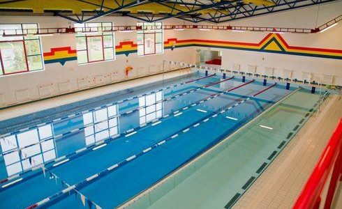The indoor swimming pool in Gniewino