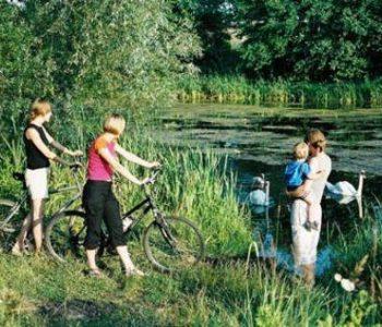 Green Bike Route of Pomieczyno