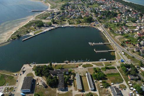 Port w Jastarni 1939