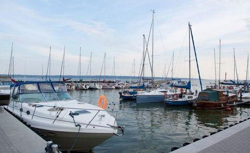 The Harbour in Krynica Morska