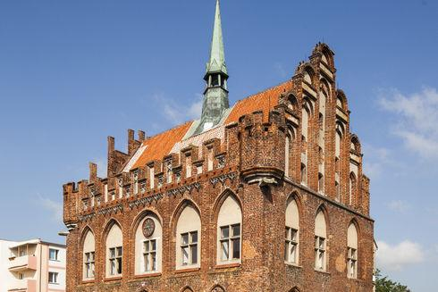 Old Town Hall in Malbork