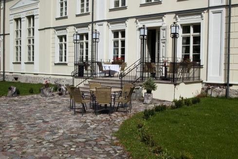 Inspiracja Restaurant in Kościeszy Palace