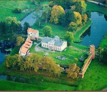 Ruiny zamku krzyżackiego w Zamku Kiszewskim