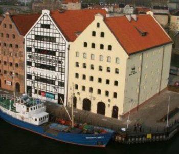 Spichlerze na Ołowiance w Gdańsku