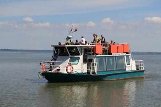 statek w Piaskach, fot Pomorskie Travel