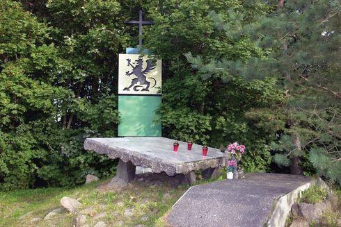 Sulicice: pomnik partyzantów Gryfa Pomorskiego